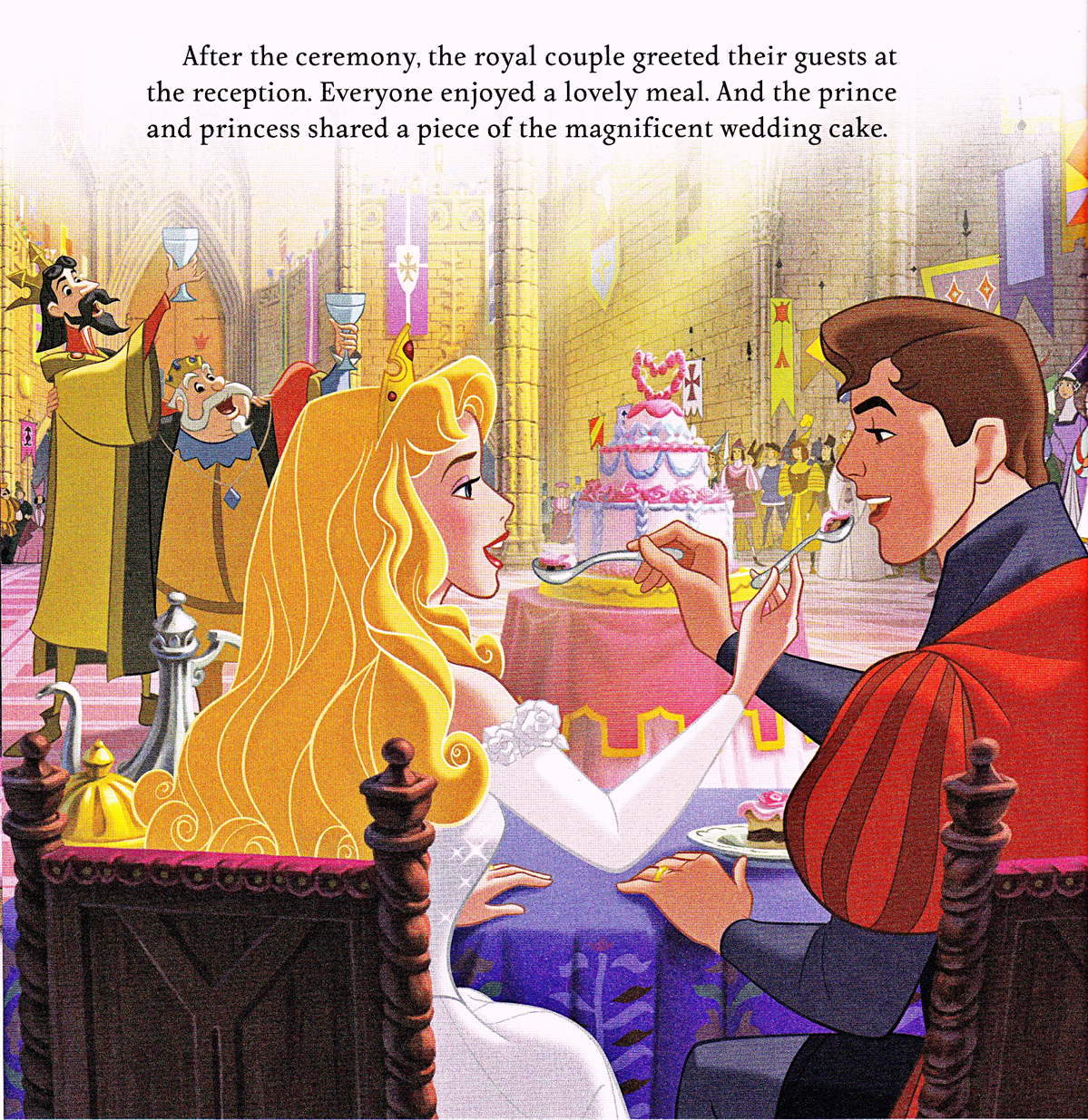 Walt Disney Book Scans - Sleeping Beauty: Aurora's Royal Wedding