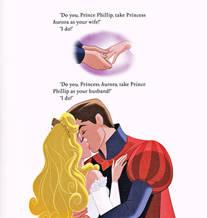 Walt ডিজনি Book Scans - Sleeping Beauty: Aurora's Royal Wedding (English Version)