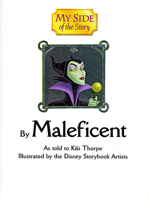 Walt Дисней Book Scans - Sleeping Beauty: My Side of the Story (Maleficent)