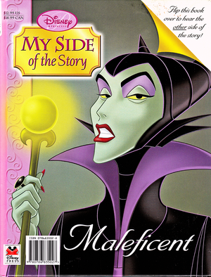 Walt ডিজনি Book Scans - Sleeping Beauty: My Side of the Story (Maleficent)