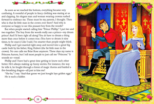 Walt 디즈니 Book Scans - Sleeping Beauty: My Side of the Story (Princess Aurora)