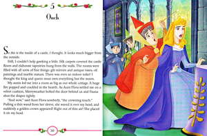 Walt ডিজনি Book Scans - Sleeping Beauty: My Side of the Story (Princess Aurora)