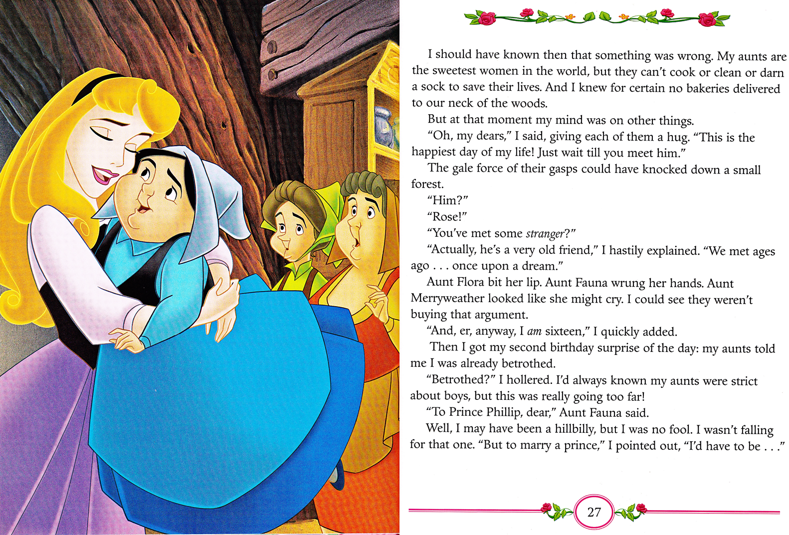 Walt Disney Book Scans - Sleeping Beauty: My Side of the Story (Princess Aurora)