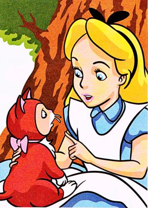 Walt Disney larawan – Dinah & Alice