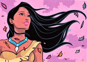 Walt ডিজনি প্রতিমূর্তি – Pocahontas