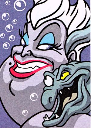 Walt Disney Bilder – Ursula & Flotsam