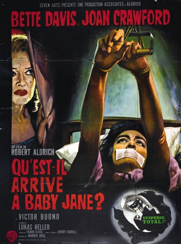 What Ever Happened to Baby Jane? karatasi la kupamba ukuta entitled What Ever Happened to Baby Jane?