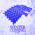 Winter Is Coming - game-of-thrones fan art
