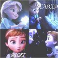 Young Anna & Young Elsa - disney fan art