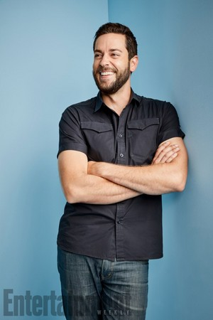 Zachary Levi ~ EW SDCC Portrait