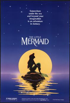 Disney wolpeyper called The Little Mermaid Movie Poster