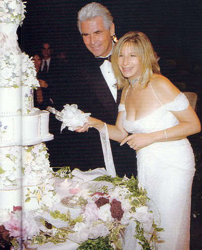 The 90s wallpaper called Barbra Streisand And James Brolin's Wedding