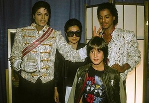 Backstage Victory Tour