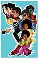 Michael Jackson  - the-jackson-5 fan art