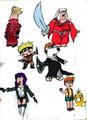 family guy anime colored  - family-guy fan art