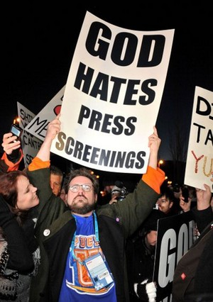 god hates press screenings