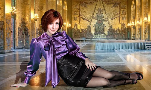Alyson Hannigan kertas dinding called hanni