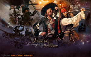 hector barbossa and jack sparrow two captains da bormoglot d5s59mv