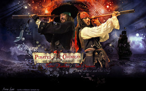 hector barbossa and jack sparrow two captains द्वारा bormoglot d5uftfa