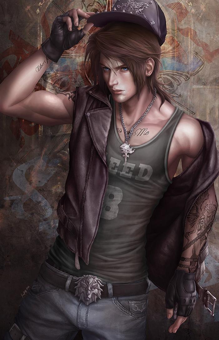 Kevin Patag Squall Leonhart Final Fantasy Viii Fan Art
