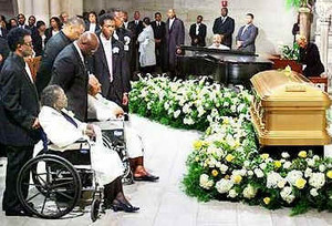 Luther Vandross' Funeral Back In 2005