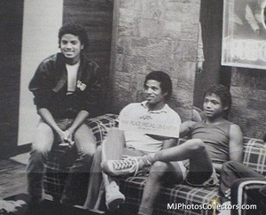 Backstage With The Jacksons