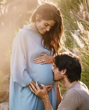 soon to be parents Nikki and Ian