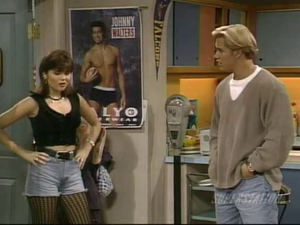 tiffani amber thiessen saved by the колокол, колокольчик, белл the college years