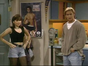 tiffani amber thiessen saved 由 the 钟, 贝尔 the college years