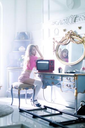 9MUSES 'Love City' MV Shooting Site