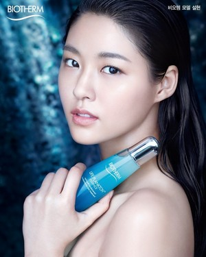 AOA's Seolhyun for global skincare brand 'BIOTHERM'