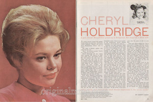 artigo Pertaining To Cheryl Holdridge