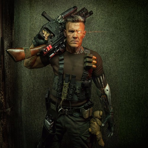 Deadpool (2016) پیپر وال titled 'Deadpool 2' First Look ~ Josh Brolin as Cable