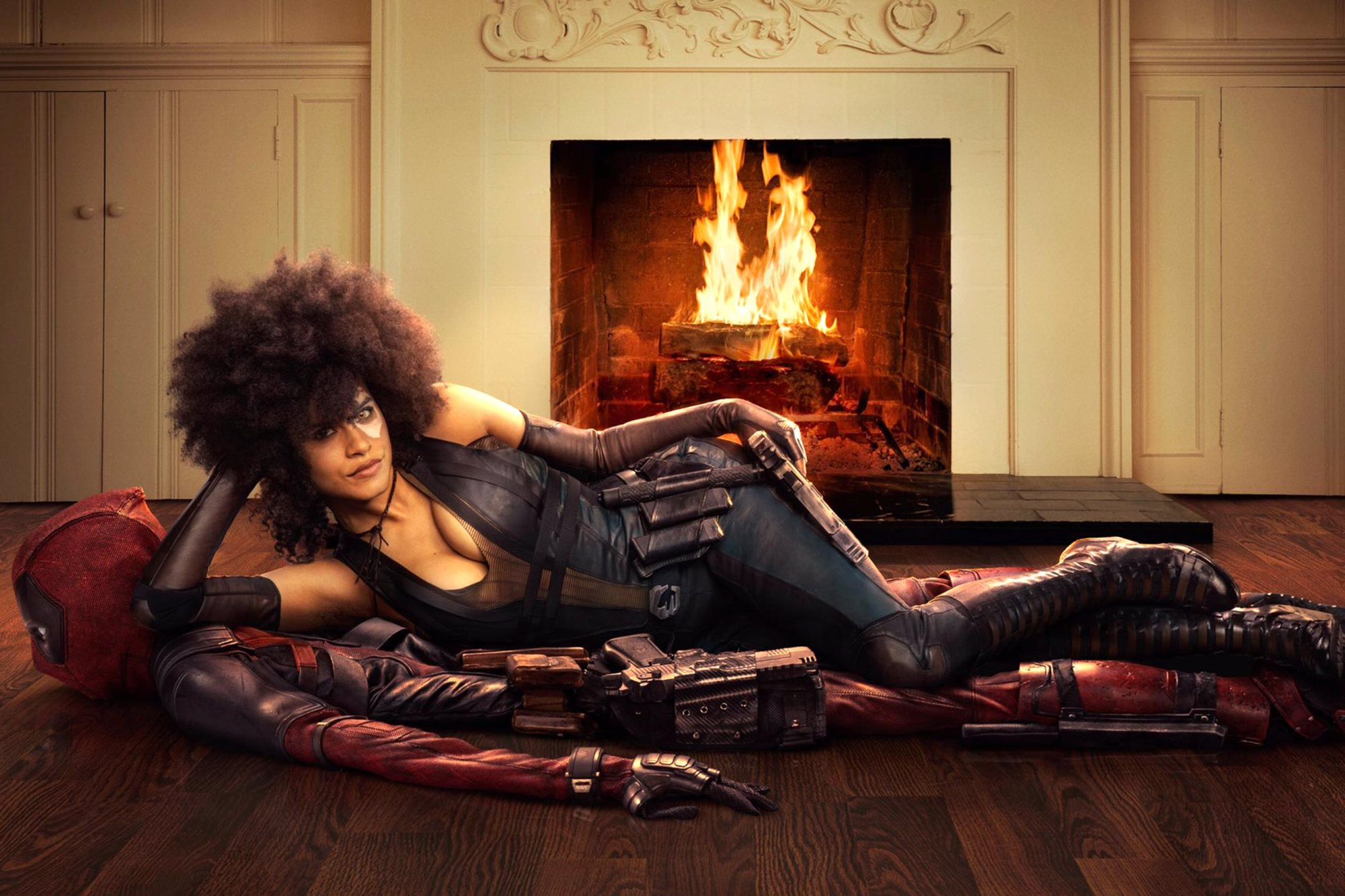 'Deadpool 2' First Look ~ Zazie Beetz as Domino