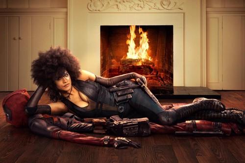 Deadpool (2016) fondo de pantalla entitled 'Deadpool 2' First Look ~ Zazie Beetz as Domino