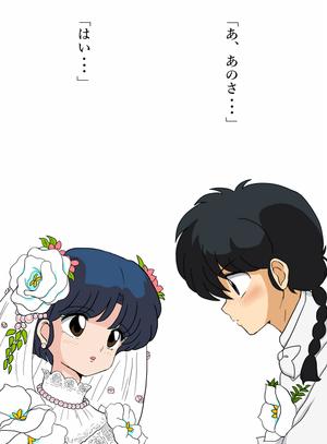 Ranma and Akane, 乱馬とあかね ♡ (乱あ)