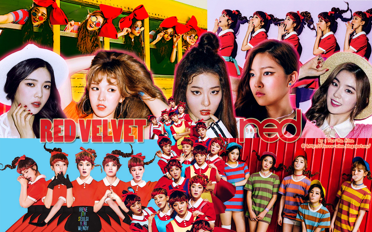 Red Velvet Kpop Girl Power Wallpaper 40648687 Fanpop