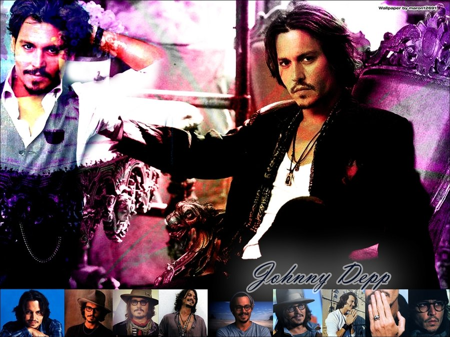 johnny depp wallpaper   by maron12691 d3bw9d8