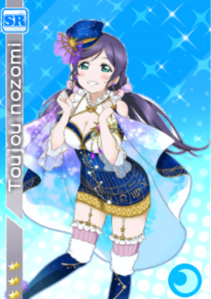 love live card design nozomi