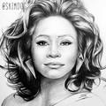 Whitney Houston  - whitney-houston fan art