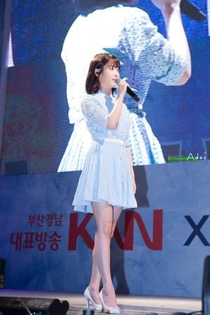 170703 आई यू at Hite Extra Cold Summer Festival in Haeundae