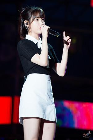 170728 IU at Boryeong Mud Festival