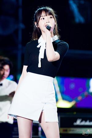 170728 李知恩 at Boryeong Mud Festival