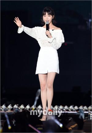 170804 IU at Psy's Concert