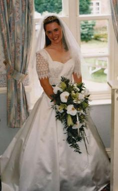 """A Vintage Wedding Dress From The """"'90's"""""""