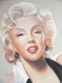 Marilyn Monroe - celebrities-who-died-young fan art
