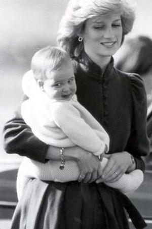 Diana And Older Son, William