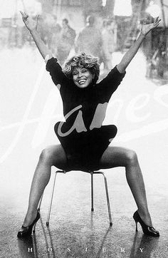 Tina Turner Promo Ad For Hanes Hosiery