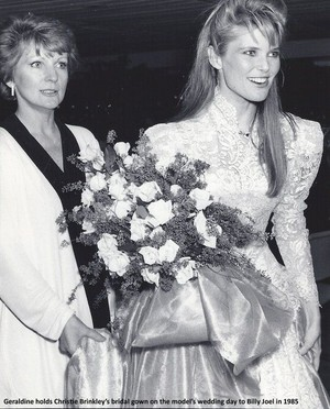 Christie Brinkley On Her Wedding 일 1985
