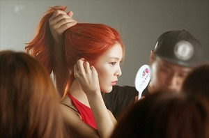 9MUSES 'Love City' MV Behind